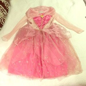 Sleeping beauty girls costume